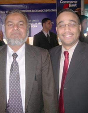 Jose R Peralta Assembleyman of Queens & Herbalist Hakeem Mohammed Hussain