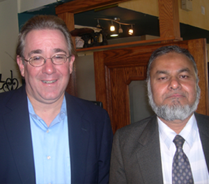 Jackson Heights Senator John Sabini & Herbalist Hakeem Mohammad Hussain